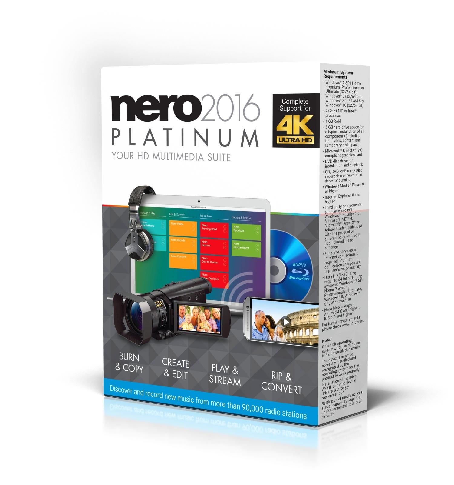 Nero 2016 Platinum Crack